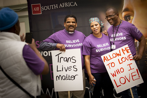 South Africa Silent Protest 2019
