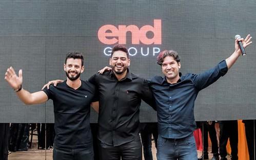 Augusto, Luan e Leonardo, os poderosos da End Fit