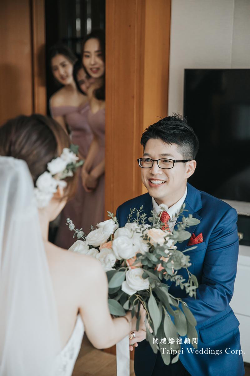 大溪威斯汀,戶外婚禮,婚顧,迎娶