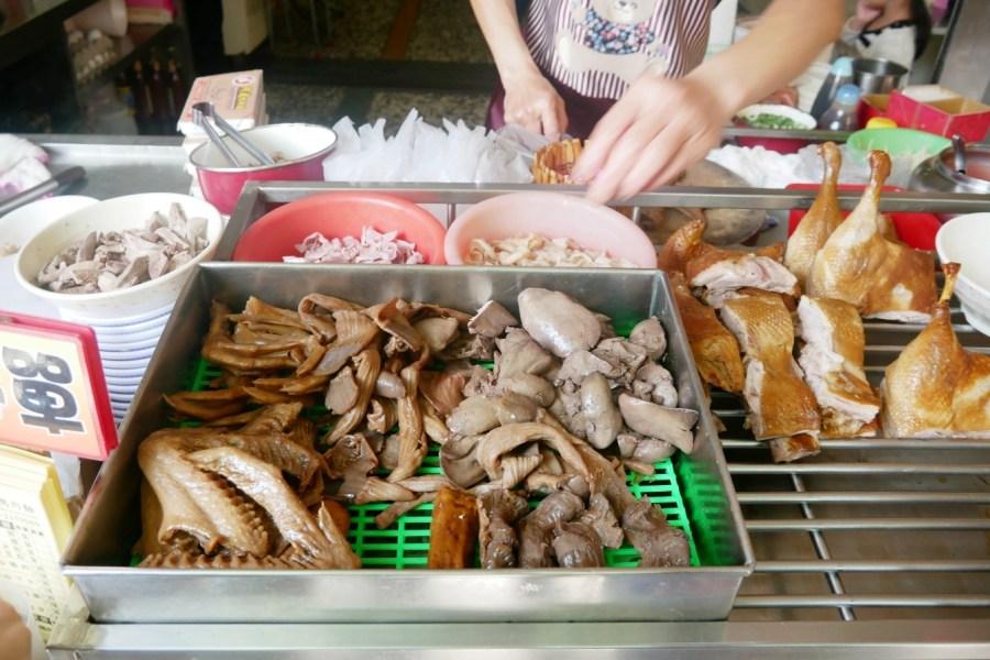 嘉義傳統美食,嘉義小吃,嘉義文化路夜市,嘉義美食,嘉義鴨肉飯,炒下水,醬煎蛋,鴨肉麵 @VIVIYU小世界