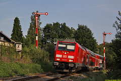 Formsignale in Lindau-Aeschach