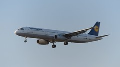 D-AISZ: Lufthansa Airbus A321
