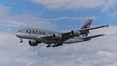 A7-APH: Qatar Airways Airbus A380-800