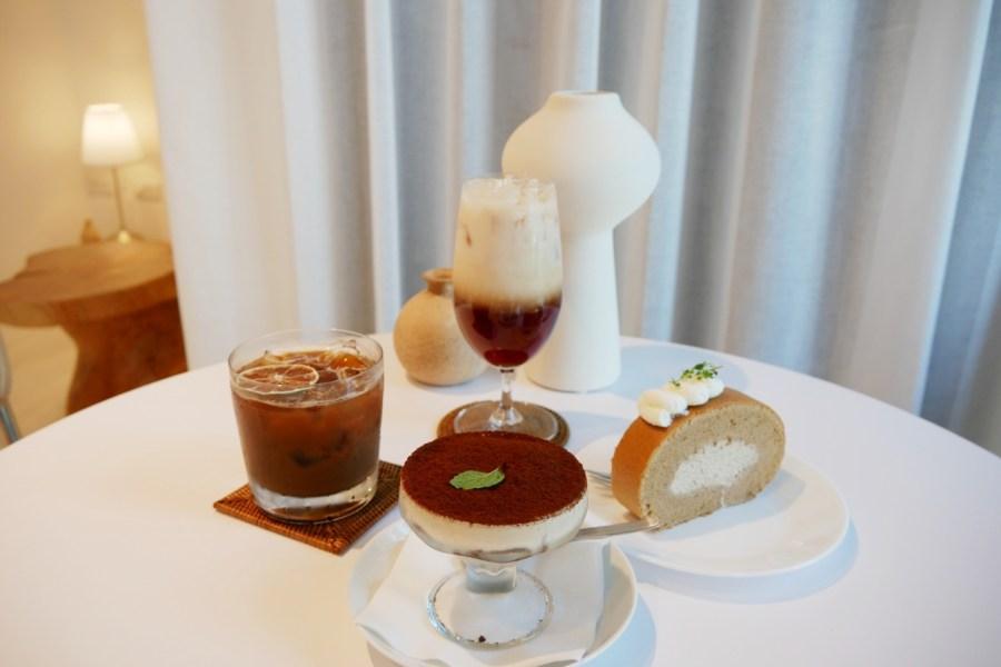 [中壢美食]我們咖啡nous cafe 桃園高鐵附近新開幕咖啡館~極簡設計.自製甜點蛋糕.文青風格 @VIVIYU小世界