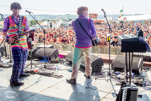 The Barsteward sons of Val Doonican at Watchet Festival 2019