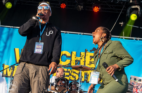 Laid Blak at Watchet Festival 2019