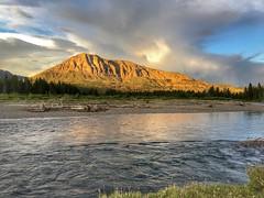 Day 2: Dusk at the Thorofare River