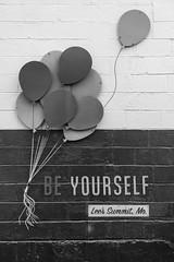 Be Yourself.  Lee's Summit, Missouri, 2019.