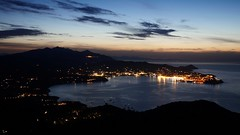Porroferraio at night Portoferraio bei Nacht