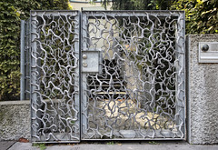 Wrought-Metal Gate