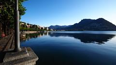 Lugano 湖