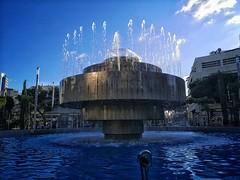 Fountain at Dizengoff Square in Tel Aviv