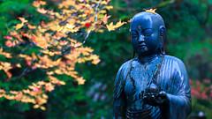 A statue in Mt. Kōya