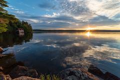 Halls Lake Sunset