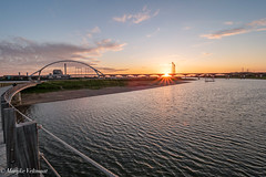 Sunset at 'de Oversteek' Nijmegen