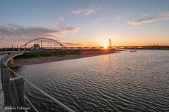 Sunset at 'de Oversteek' Nijmegen