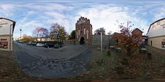 Neubrandenburg - Neues Tor und Neutorstraße 360 Grad