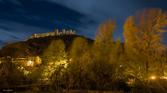 albarracin autumn night