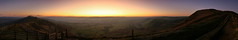 Mam Tor at sunrise.
