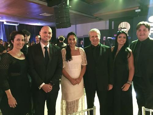 Rita Rebelo, Bruno Paulino, Ana Gabriela, Sergio Leite, Érica e Américo Ferreira