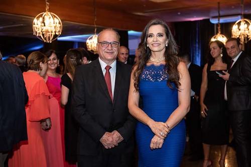 Salomão Ferreira e Carla Vilhena
