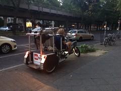 Camera Rickshaw Near Berlin U-Bahn 2