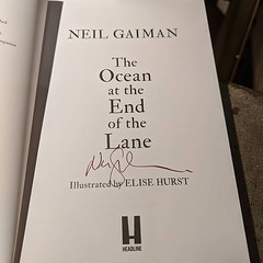 I need another signed Neil Gaiman book :-)