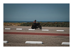 Lonesome Biker