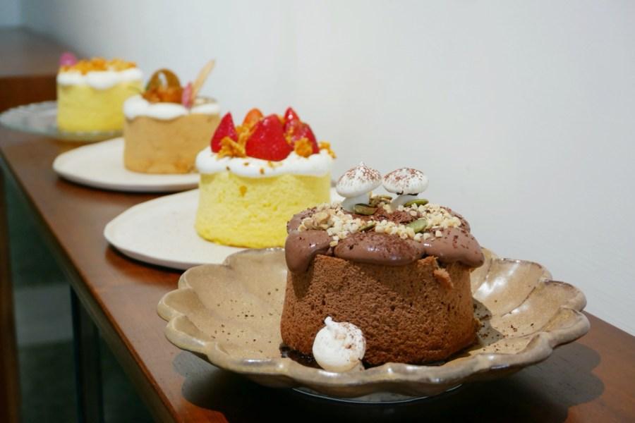 [嘉義美食]木更咖啡 MUGENERATION|復古工業風格座位多~自製戚風蛋糕甜點.飄著咖啡香 @VIVIYU小世界