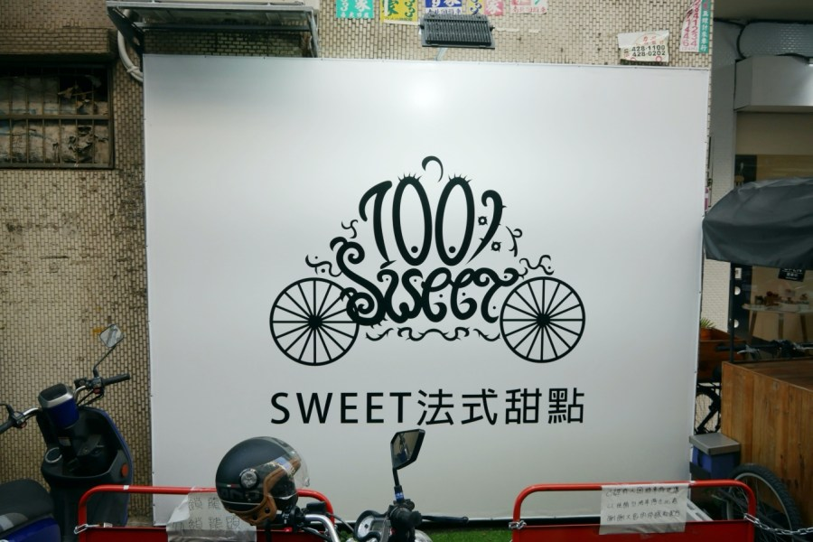 [中壢美食]Sweet法式甜點 中原商圈下午茶~從攤車進階到店面.隱藏在巷弄之中的平價甜點 @VIVIYU小世界