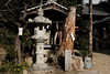Photo:Stone lantern and old trees at Miwa Shrine (三輪神社) By