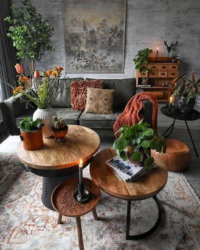 O lar doce lar ganha ares orgânicos e são um verdadeiro ninho, mesmo que para pessoas sozinhas