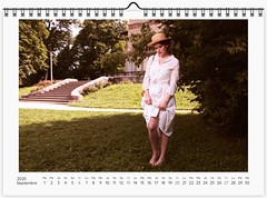 Pirelli project, year 1972 : Sarah Moon - September