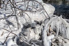 Nature's Ice Sculture