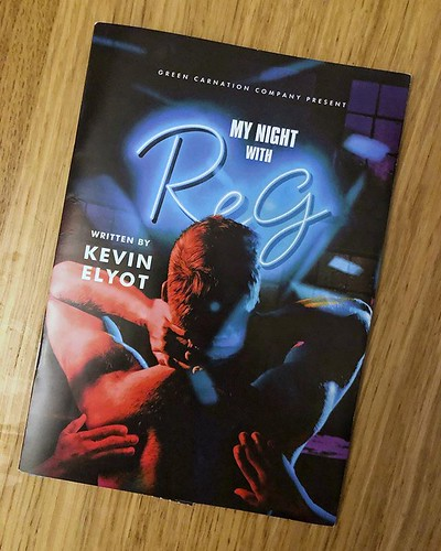 Today is all about...My Night with Reg