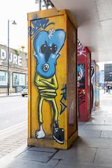Street art off Great Eastern Street