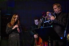 Ellen Andersson, Petter Olofsson ja Dan Johansson
