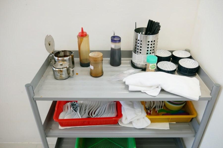 [桃園美食]紫芋芋頭米粉湯|桃園戶政事務所對面銅板小吃~室內座位區衛生乾淨.晚來吃不到呦~ @VIVIYU小世界