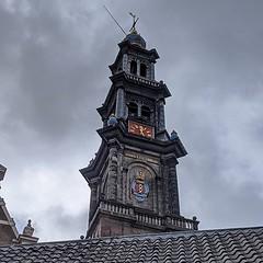 Amsterdam church tower