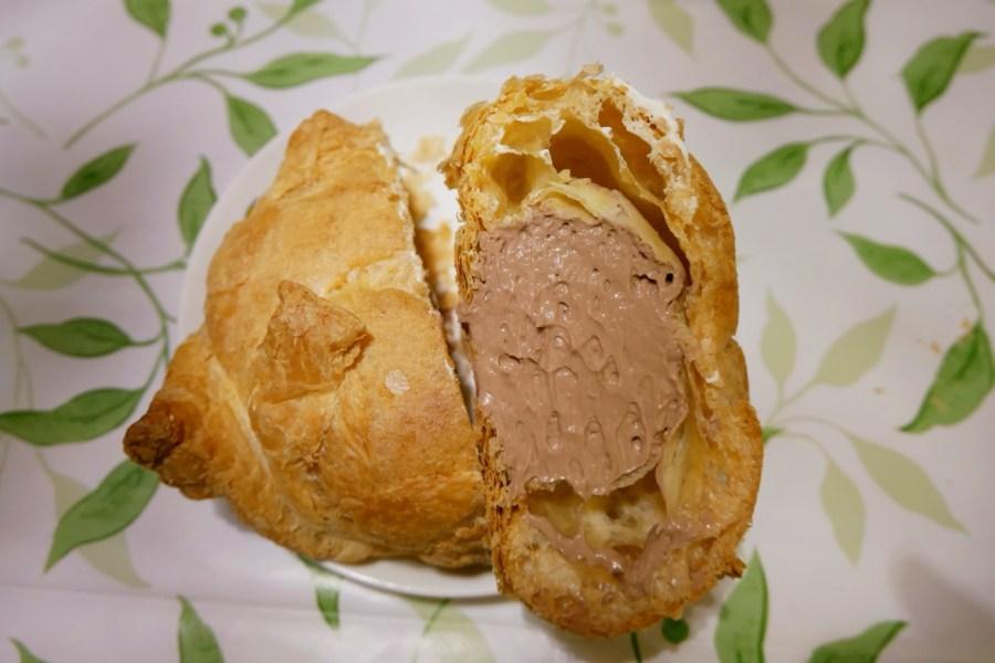 [新北美食]米琪淋乳凍蛋糕 萬里亞尼克附近~高CP值的銅板美食比手掌還大的超大泡芙 @VIVIYU小世界