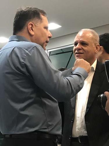 Emílio Chaim e Carlos Souto