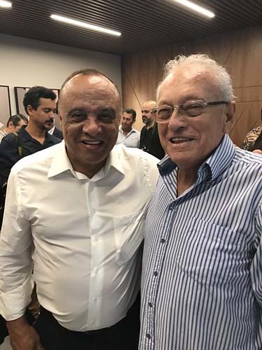 Valter de Oliveira e Edmar Moreira, dois ícones da comunicação no Vale do aço