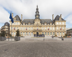 Reims, esplanade Simone Veil