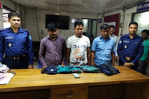 Gazipur-(4)- 27 March 2020-Fake SI Arrest Including Two Helper At Mirzapur