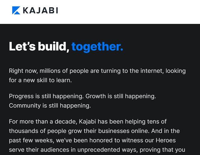 Kajabi 線上課程