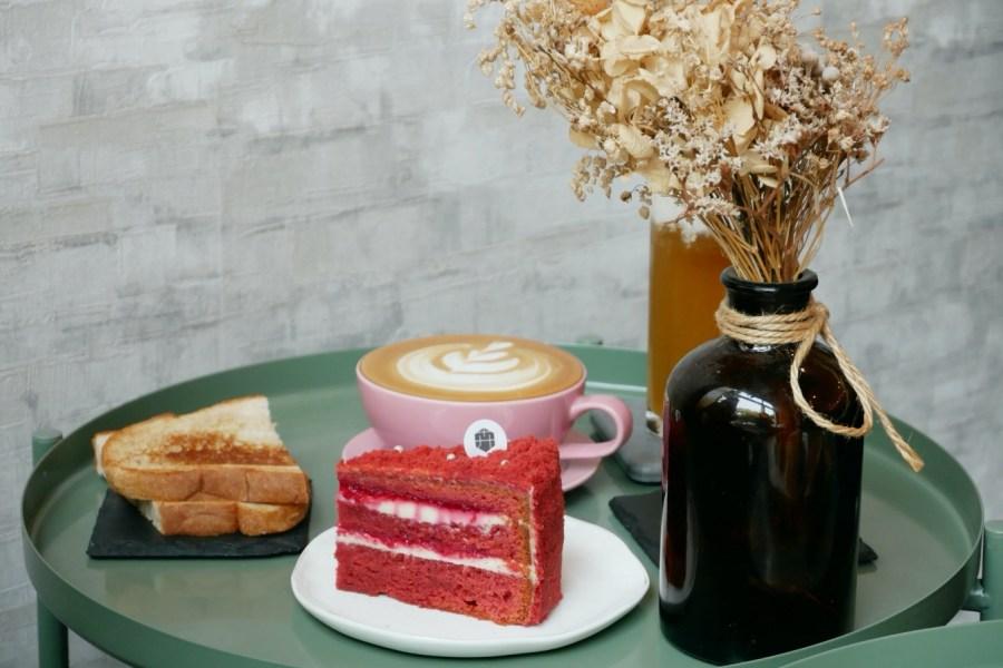 [台中美食]卉-HUI Café·法式甜點·早午餐|隱藏在公園對面的小清新~吃的到食物的原型餐點 @VIVIYU小世界