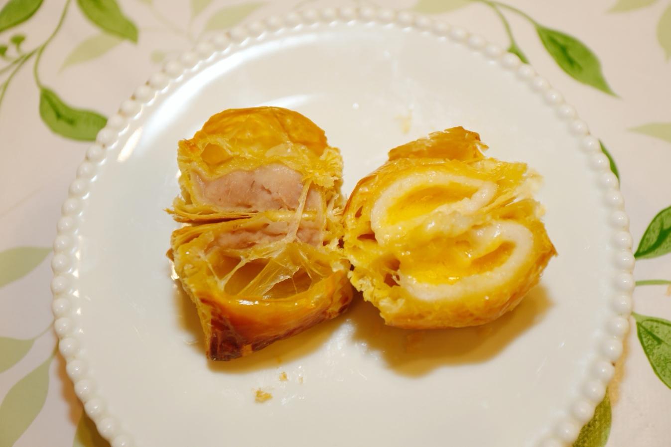 [烹飪]酥皮湯圓 簡單動手做料理~烤箱就能輕鬆做出流沙爆漿口感.內餡可任意自由變化 @VIVIYU小世界