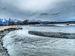 Matanuska River basin - Alaska