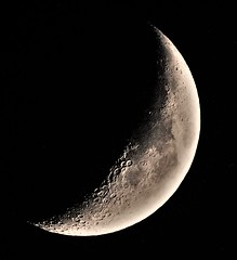 Moon Phase: Waxing Crescent - Old Bridge NJ