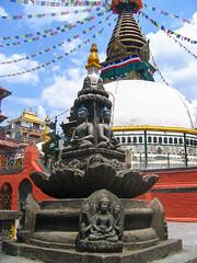 Swayambhunath Stupa. Kathmandu, Nepal 2007